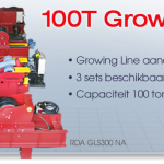 100T Growing Line systeem